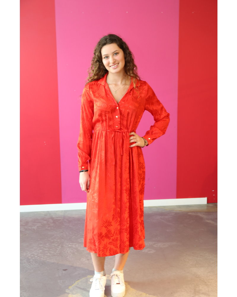 kleed lang rood
