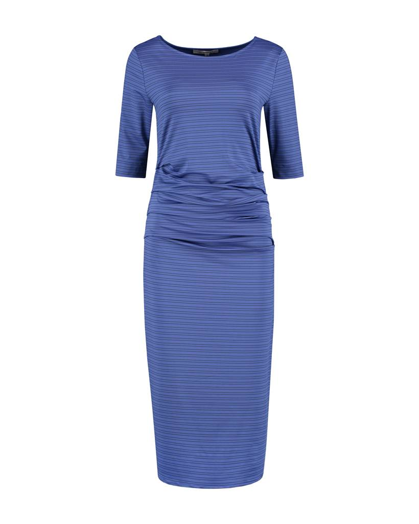 SYLVER Silky Double Stripe Dress