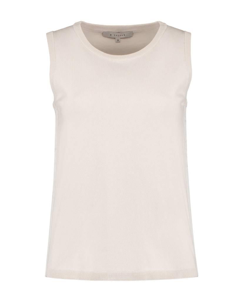 SYLVER Combed Cotton Top Sleevless