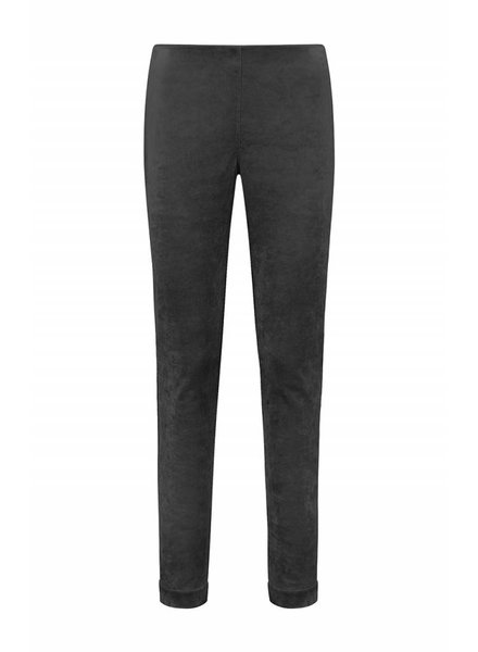 SYLVER Velvet Trousers - Charcoal