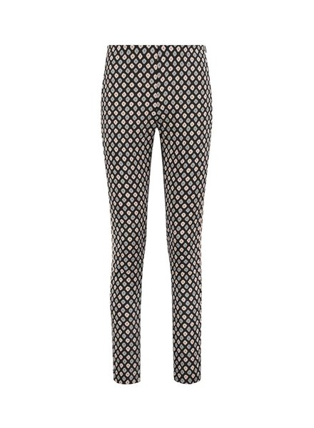 SYLVER Dobby Trousers - Donkergrijs