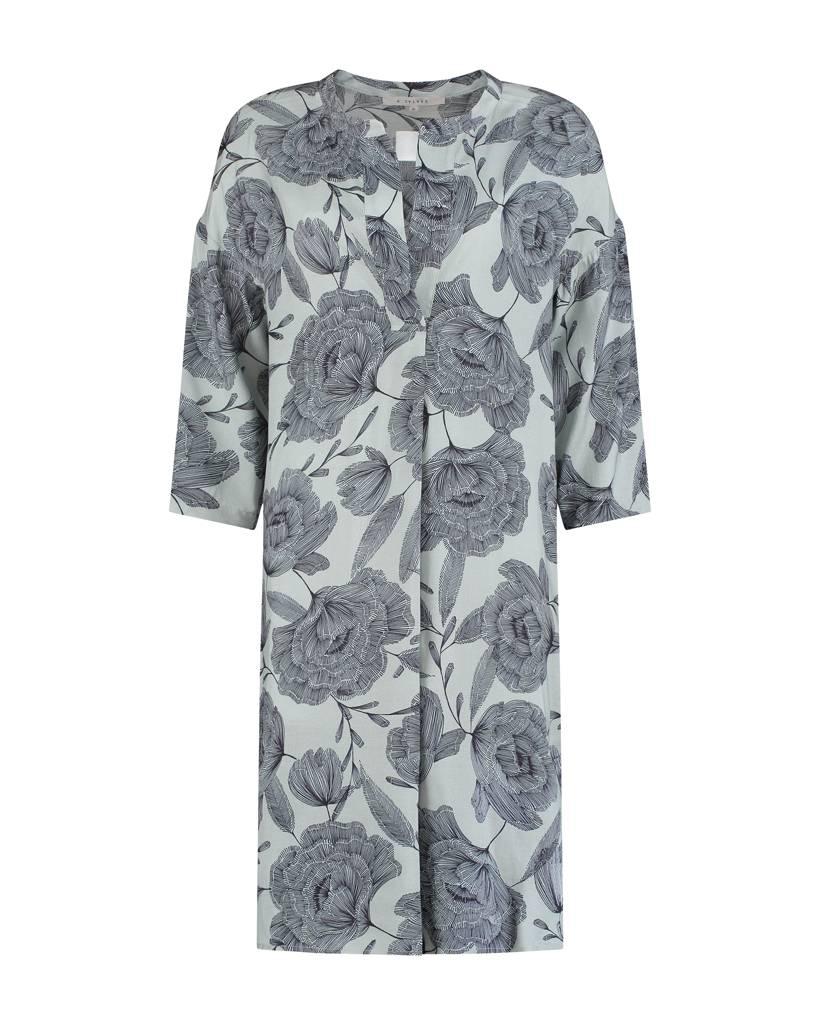 SYLVER Poppy Dress - Light Smoke