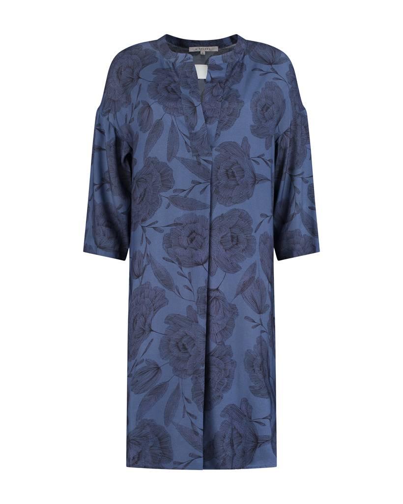 SYLVER Poppy Dress - Purple Blue