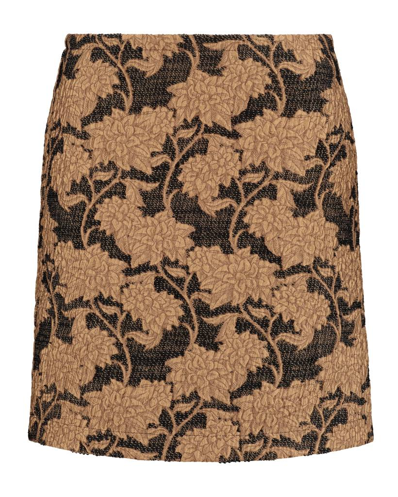 SYLVER Special Skirt - Donker Goud