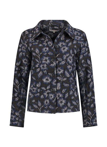 SYLVER Rich Jacket - Donkerblauw