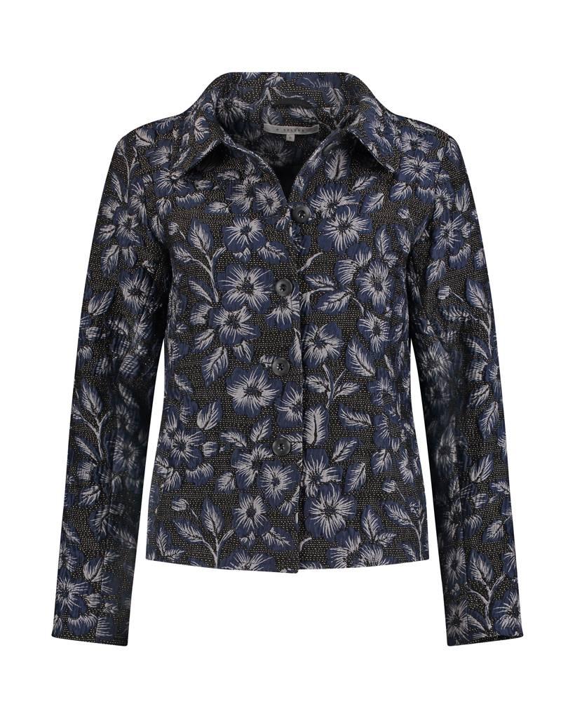 SYLVER Rich Jacket - Donkerblauw