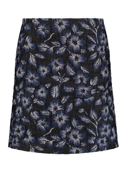 SYLVER Rich Skirt - Jeansblauw