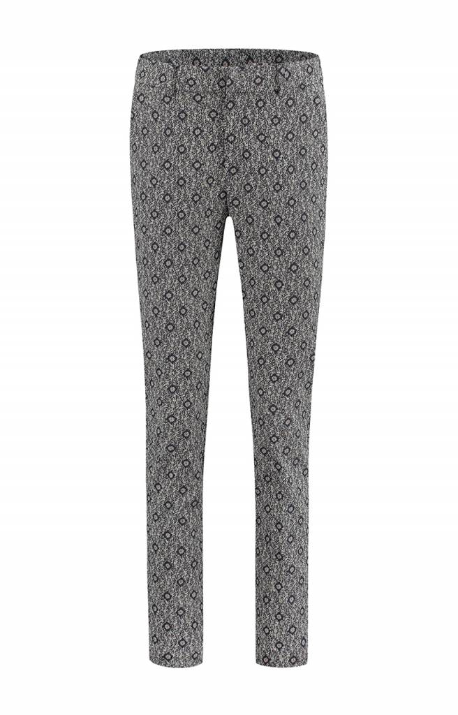 SYLVER Scratch Trousers - Donkerblauw