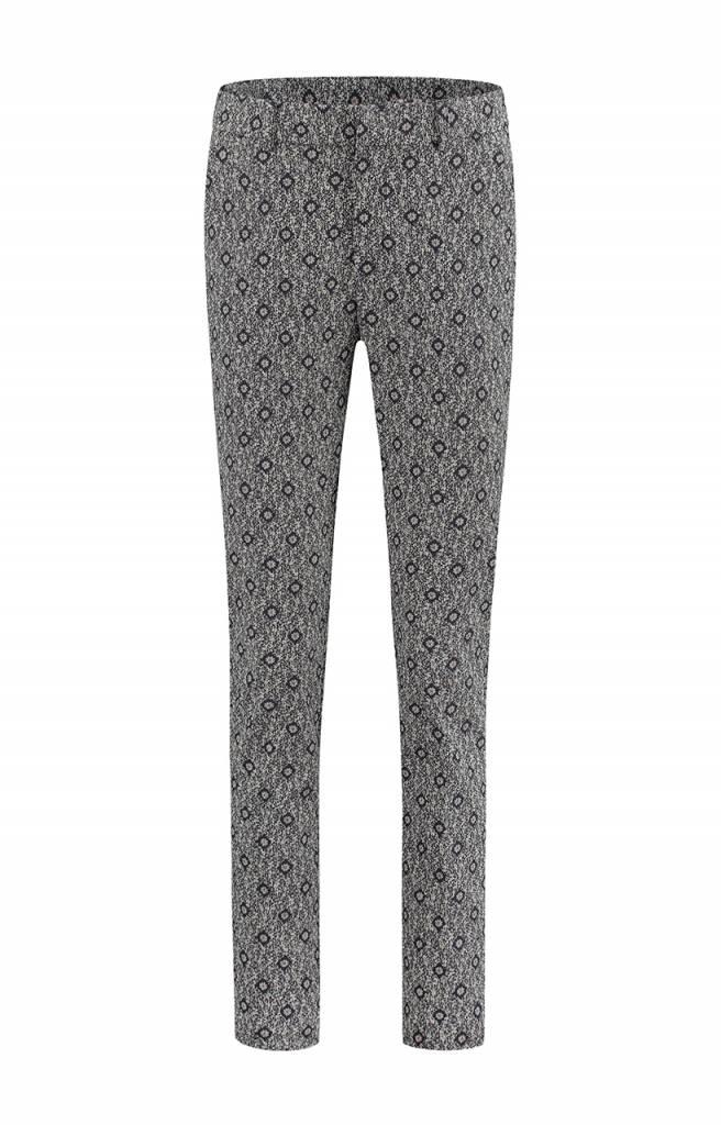 SYLVER Scratch Trousers - Indigo
