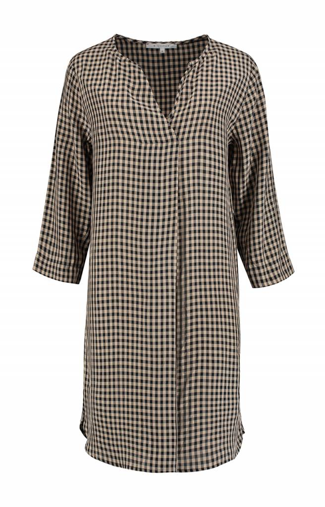 SYLVER Middle Tunic - Charcoal