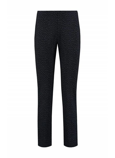 SYLVER Panther Trousers Straight - Donkerblauw