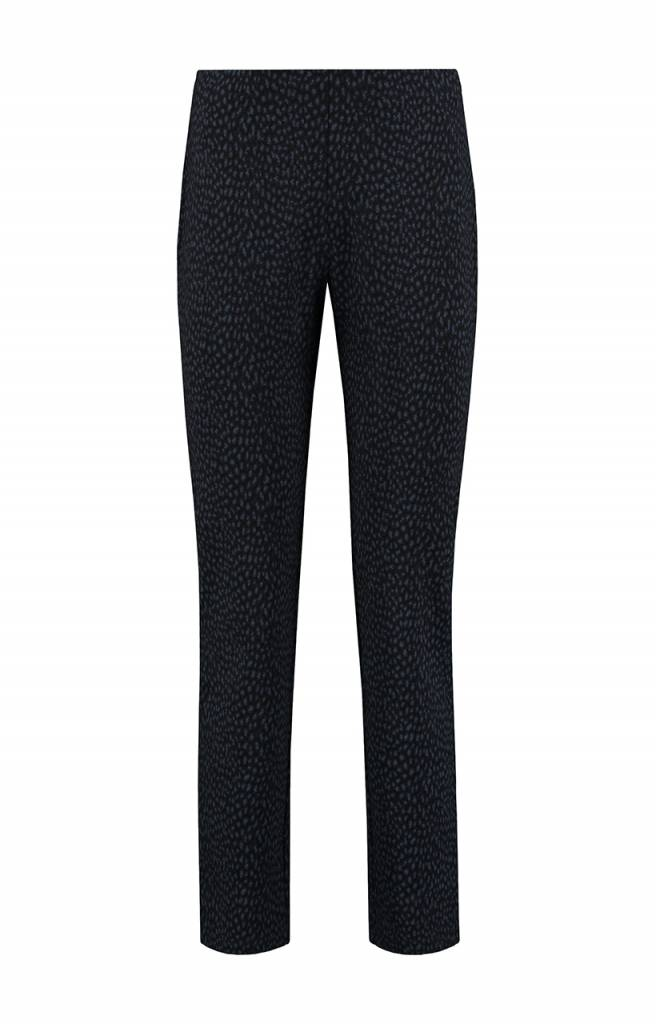 SYLVER Panther Trousers Straight - Indigo