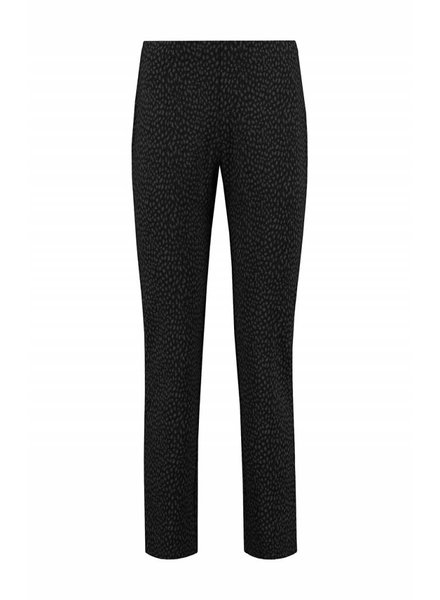 SYLVER Panther Trousers Straight - Donkergrijs