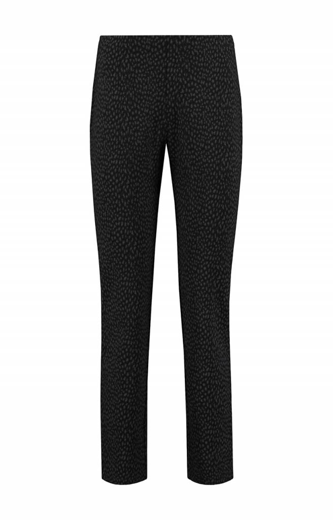 SYLVER Panther Trousers Straight - Charcoal