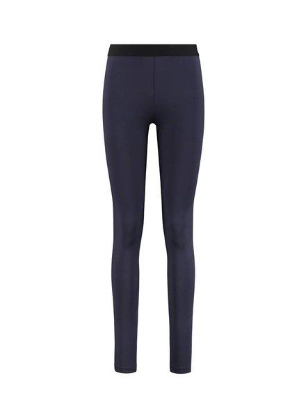 SYLVER Silky Jersey Legging - Indigo