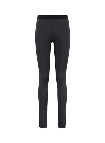 SYLVER Silky Jersey Legging - Charcoal