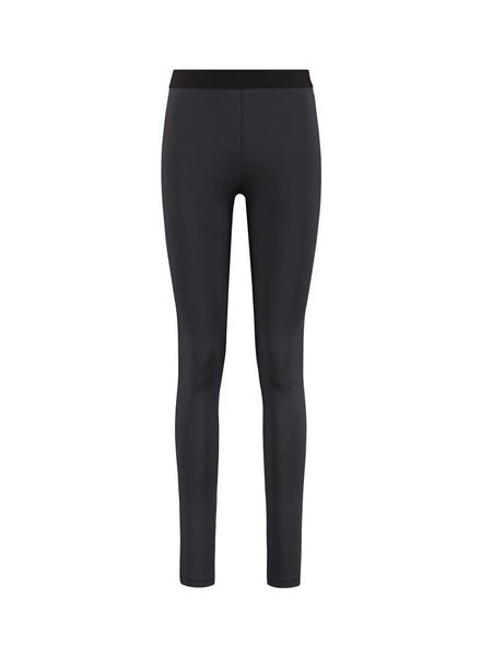 SYLVER Silky Jersey Legging - Donkergrijs