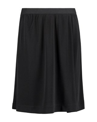 SYLVER Heavy Crêpe Skirt - Black