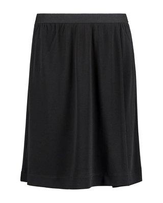 SYLVER Heavy Crêpe Skirt - Zwart