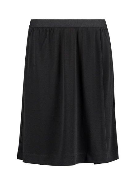 SYLVER Heavy Crêpe Skirt - Black