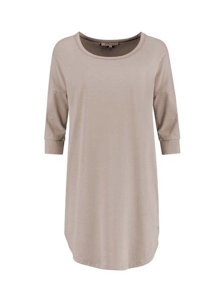 SYLVER Cotton Elasthane Shirt - Zand