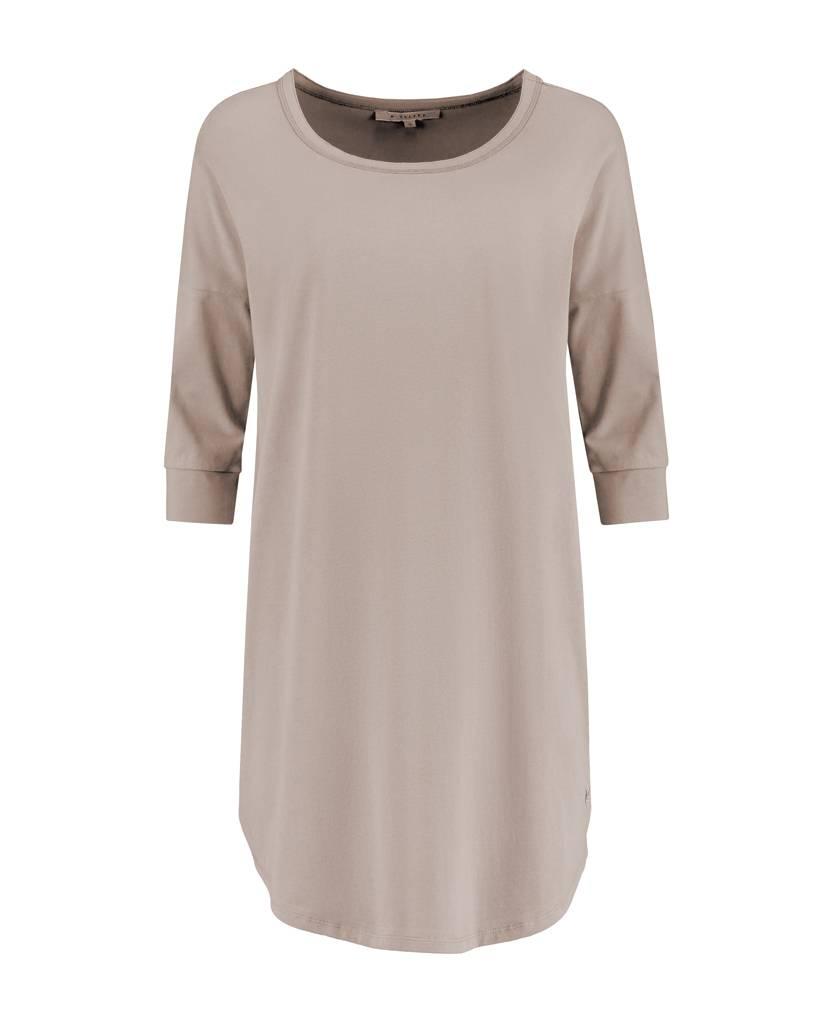 SYLVER Cotton Elasthane Shirt - Taupe