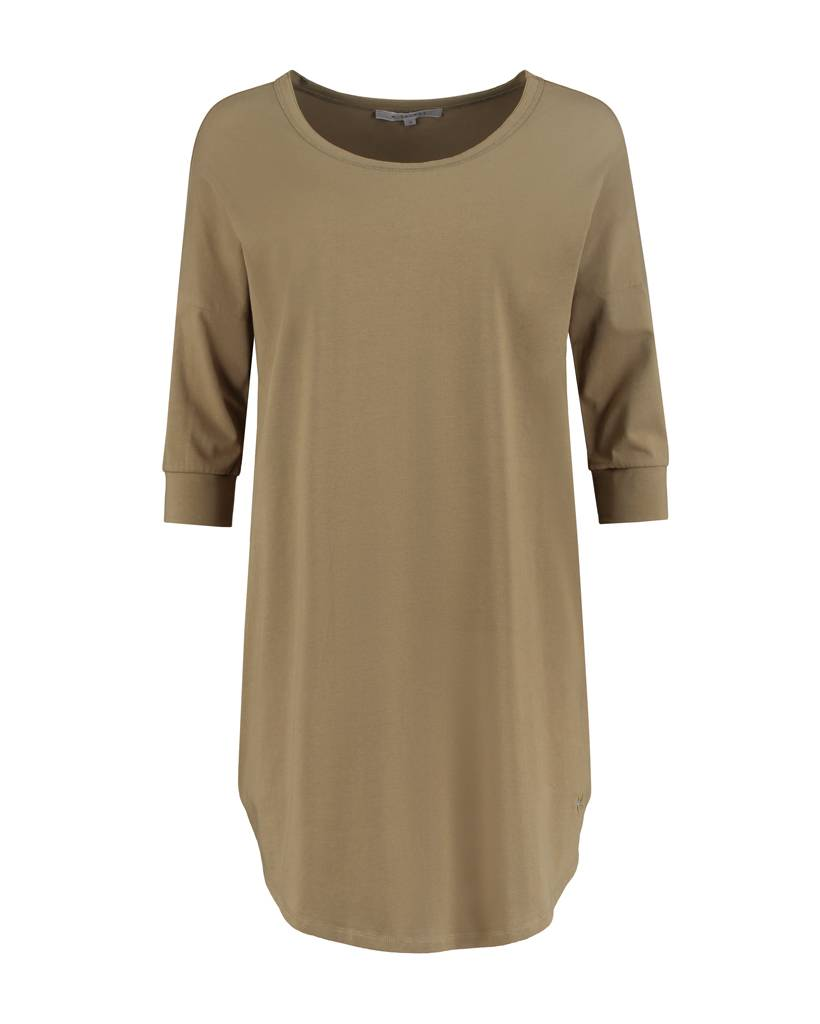SYLVER Cotton Elasthane Shirt - Bright Olive