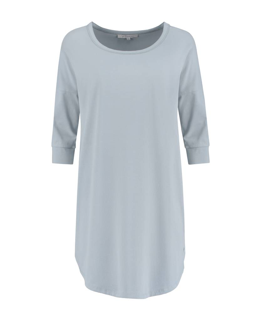SYLVER Cotton Elasthane Shirt - Light Smoke