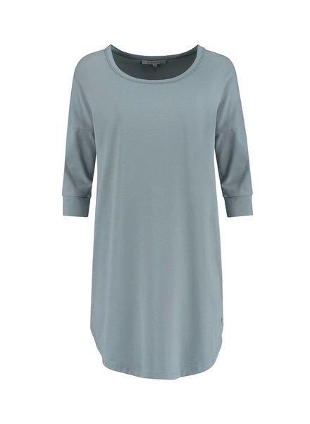 SYLVER Cotton Elasthane Shirt - Dark Smoke