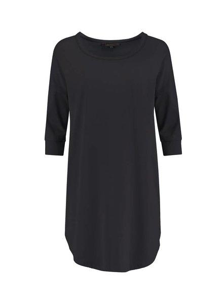 SYLVER Cotton Elasthane Shirt - Donkergrijs