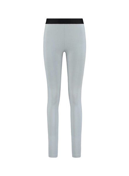 SYLVER Cotton Elasthane Legging - Licht Grijsblauw