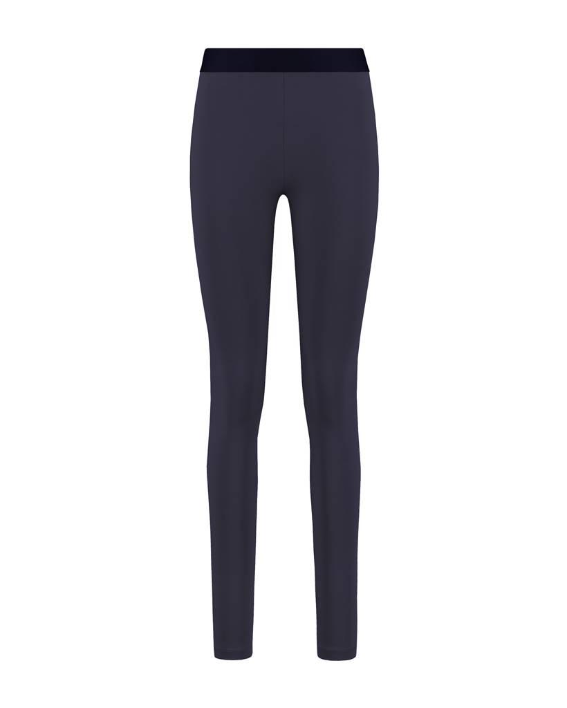 SYLVER Cotton Elasthane Legging - Donkerblauw