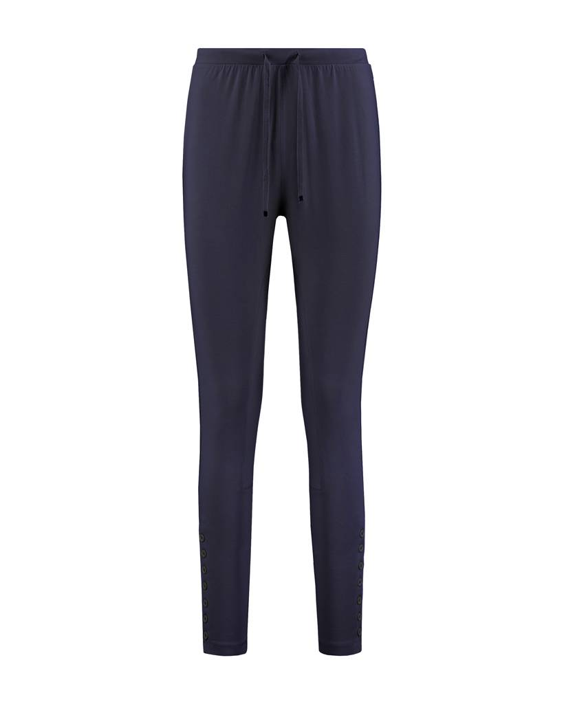 SYLVER Cotton Elasthane Trousers Fancy - Indigo
