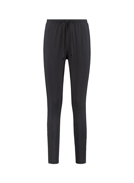 SYLVER Cotton Elasthane Trousers Fancy - Donkergrijs