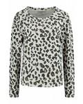 SYLVER Animal Shirt - Wool Wit