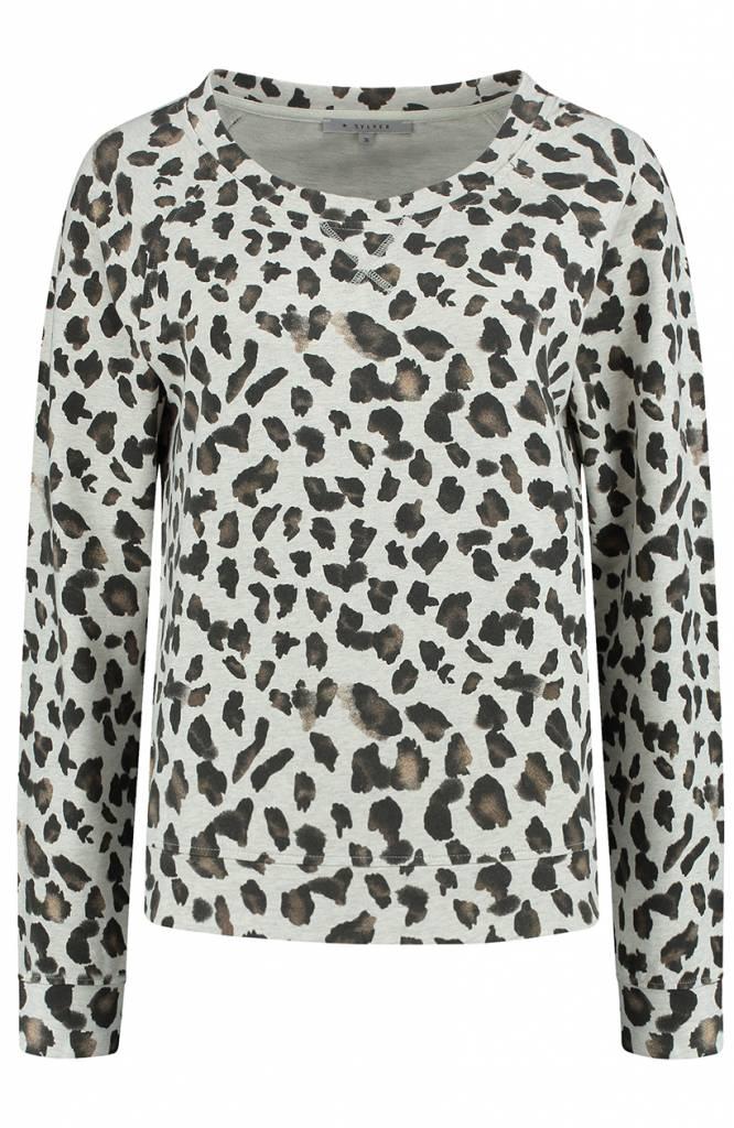 SYLVER Animal Shirt - Wool White