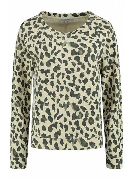 SYLVER Animal Shirt - Vanille