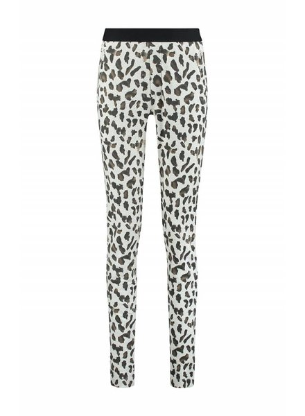 SYLVER Animal Trousers - Wool Wit