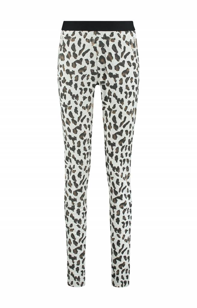 SYLVER Animal Trousers - Wool White