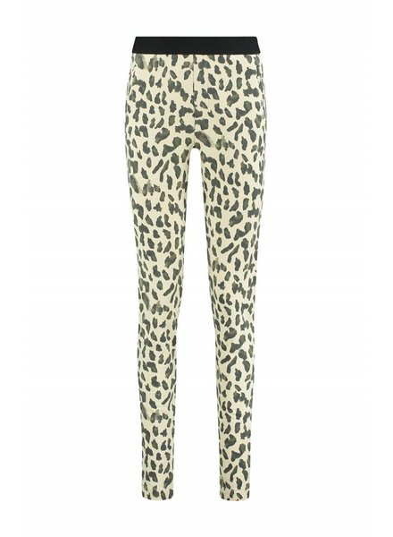 SYLVER Animal Trousers - Vanille