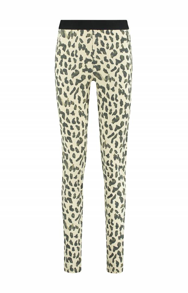 SYLVER Animal Trousers - Antique White