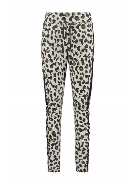 SYLVER Animal Trousers back pockets - Wool Wit
