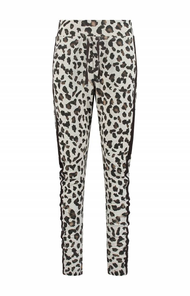 SYLVER Animal Trousers back pockets - Wool White