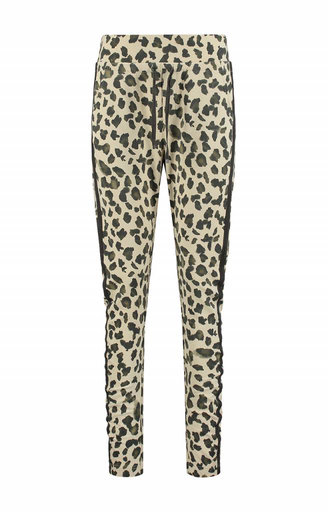 SYLVER Animal Trousers back pockets - Vanille