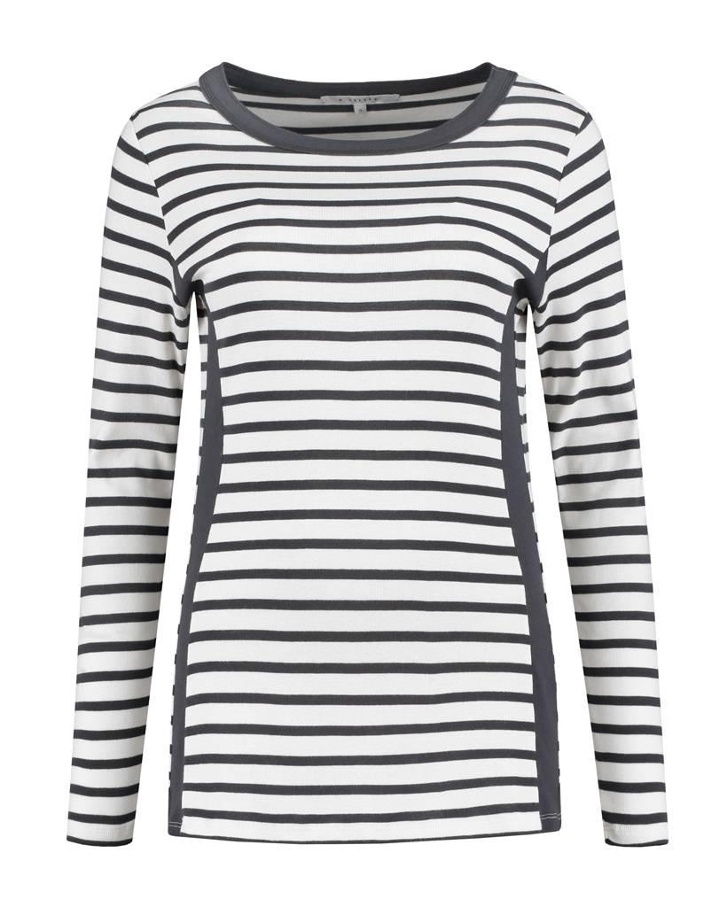 SYLVER Stripes Shirt - Wool White