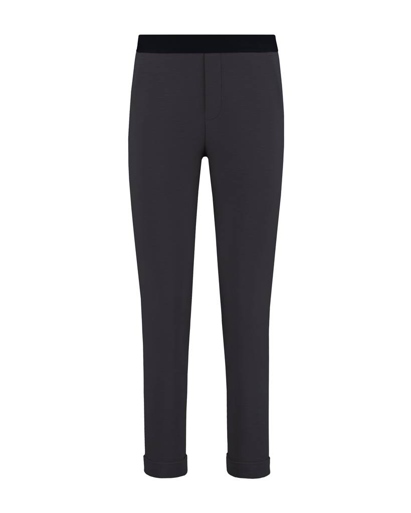 SYLVER Slub Sweat Trousers small - Charcoal