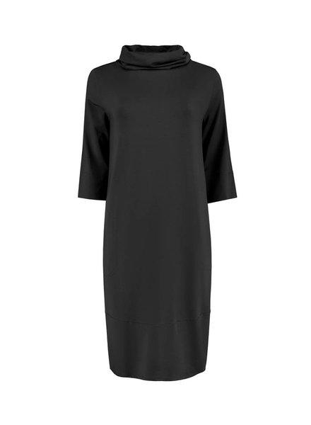 SYLVER Lyocell Dress - Donkergrijs