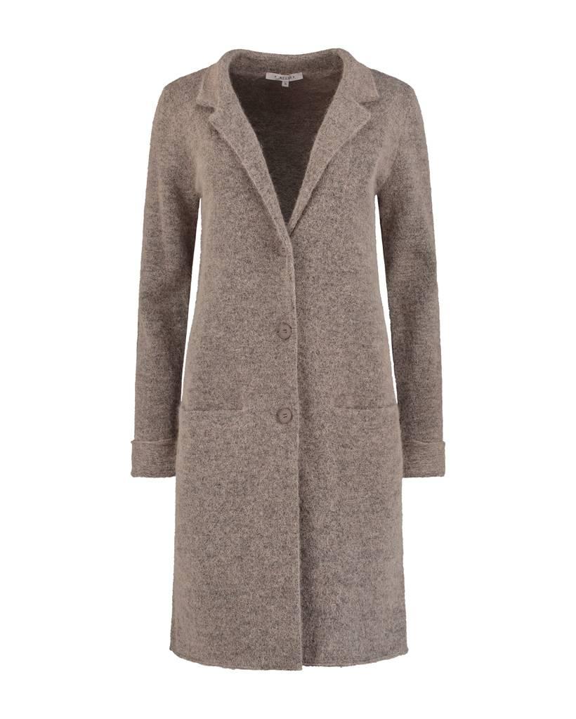 SYLVER Top Line Blazer knitted - Zand