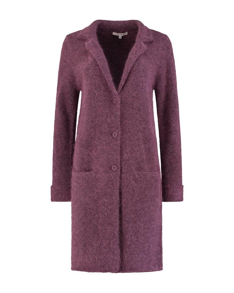SYLVER Top Line Blazer knitted - Viola
