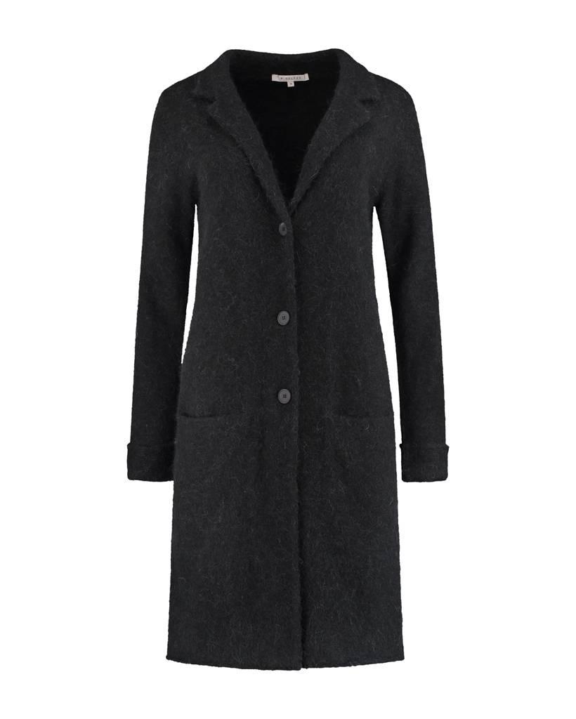 SYLVER Top Line Blazer knitted - Black